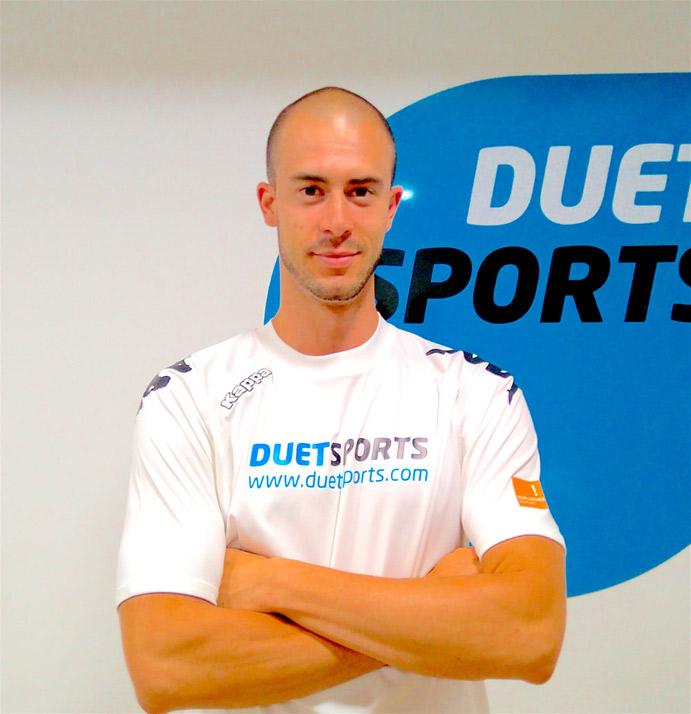 Adrián Yestes es técnico de Fitness de Duet Sports Esplugues.
