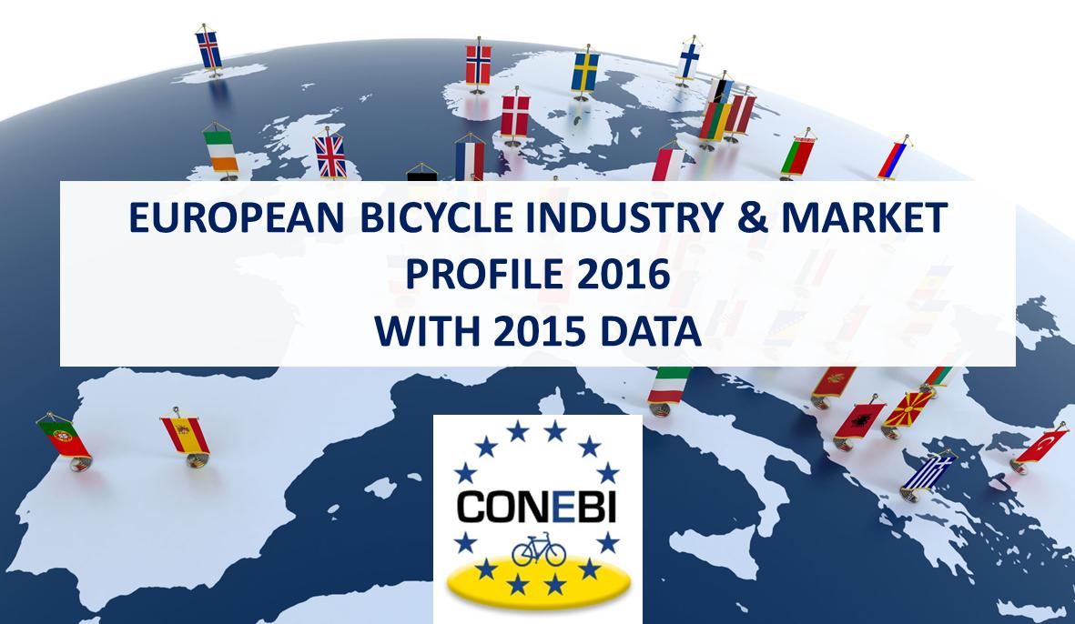 El mercado europeo comercializó 21 millones de bicicletas en 2015