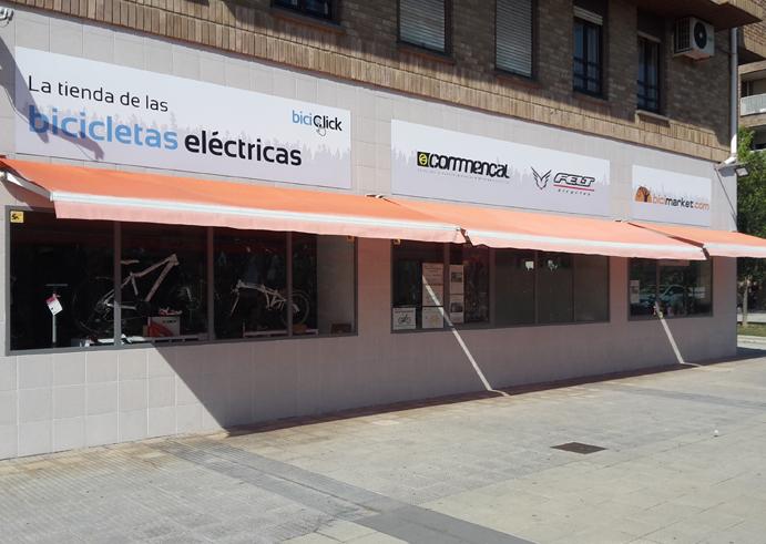 Biciclick y Bicimarket se alían en Pamplona