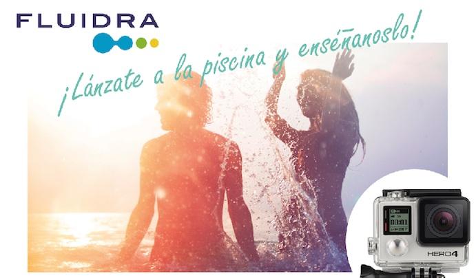 Fluidra lanza un concurso fotográfico situado en la piscina