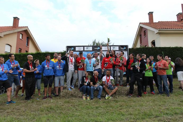 Joseph Fernández  y Rosana Rodríguez se llevan la primera Gladiator Race Asturias