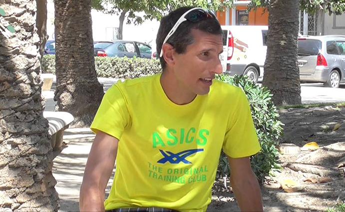 """Pablo Villalobos: """"voy a compatibilizar pruebas en ruta con carreras de montaña"""""""