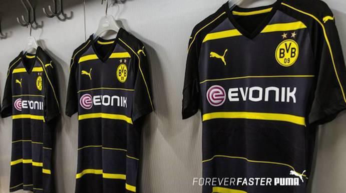 equipacion Borussia Dortmund modelos