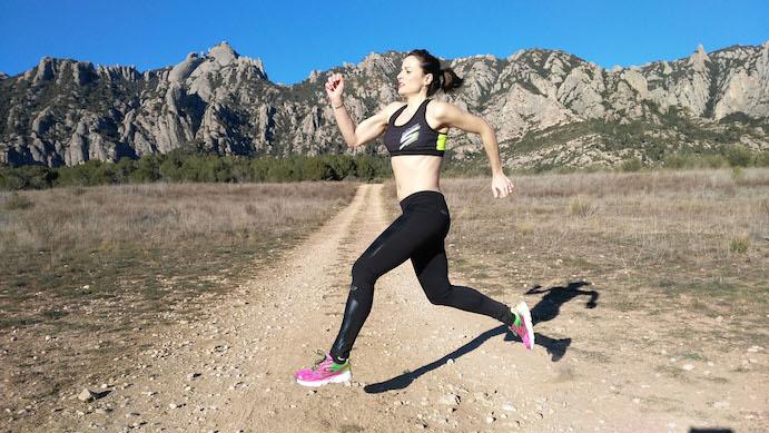 Sandra Corcuera, pentacampeona del mundo en 10.000 metros de Retrorunning