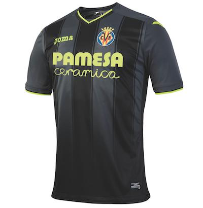 Segunda equipación Villarreal Joma