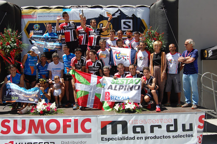 Sestao Alpino Grafsestao y Alpino Benalmádena revalidan título de Campeones de España