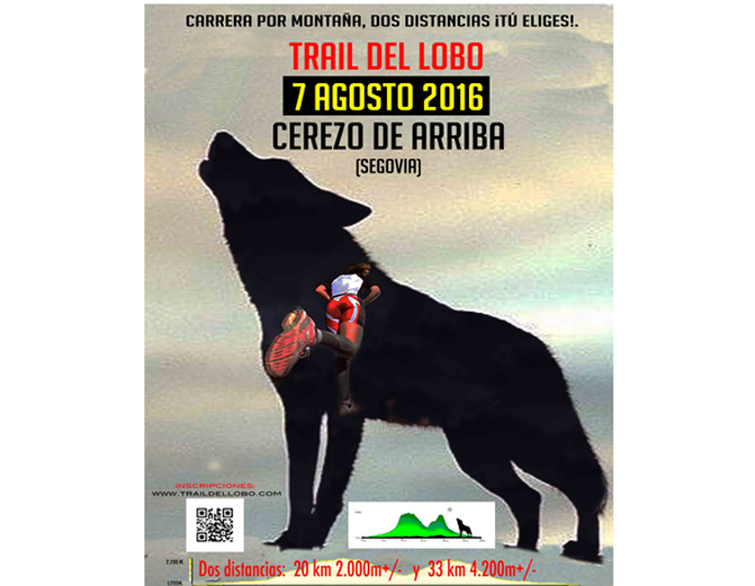 Nace el Trail del Lobo, una nueva carrera por montaña en Segovia