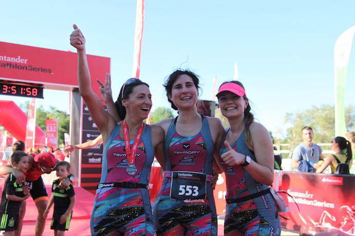 Tres historias, tres mujeres, un mismo triatlón