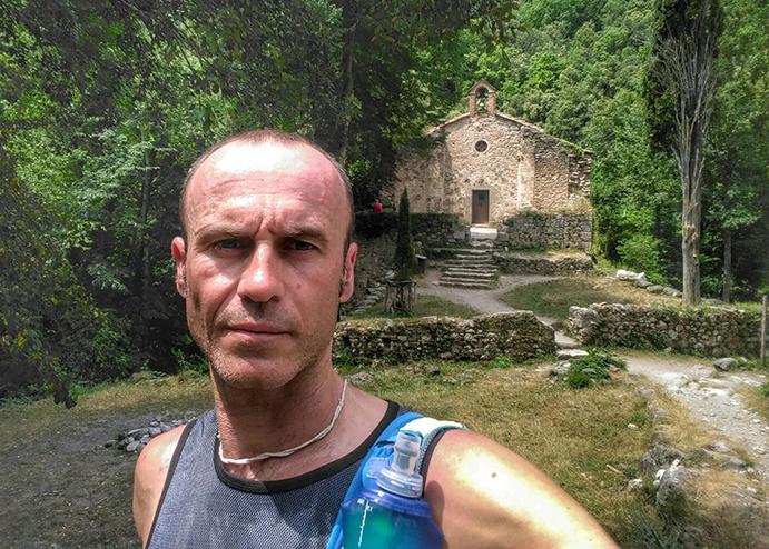 """Alfredo Corralero: """"Correr 3.600 km en dos meses ha sido una bestialidad"""""""