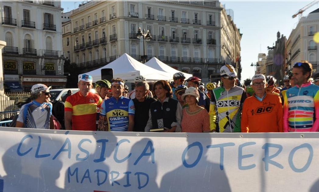 La Clásica Otero reivindica las rutas ciclistas históricas de Madrid