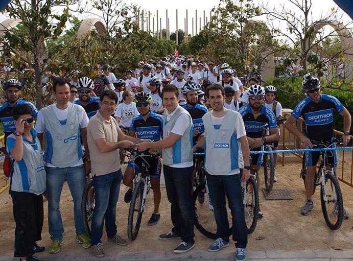 Decathlon, líder del mercado ciclista español