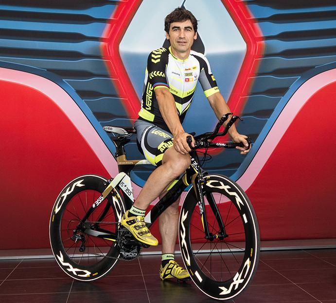 """Julian Sanz: """"el ultracycling es una opción de futuro para ciclistas competitivos"""""""