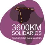 Logo reto 3600 km solidarios