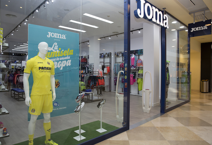 Joma amplía su tienda de Xanadú y ultima una apertura en Puertollano