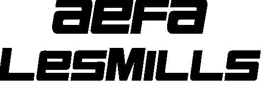 Aefa Les Mills Logo empresa