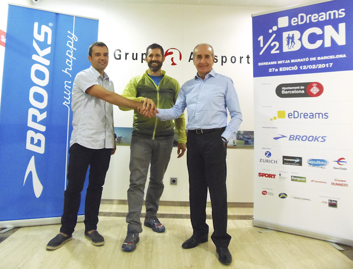 La Mitja Marató de Barcelona tiene nuevo patrocinador técnico: Brooks