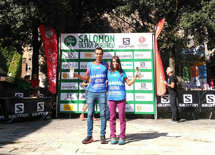 Cristofer Clemente y Gemma Arenas, campeones de las Ultra Series