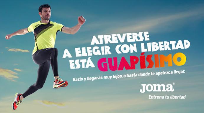 """Joma estrena campaña en televisión: """"Entrena tu libertad"""""""