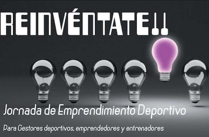 Jornada gratuita de emprendimiento deportivo 'Reinvéntate!'
