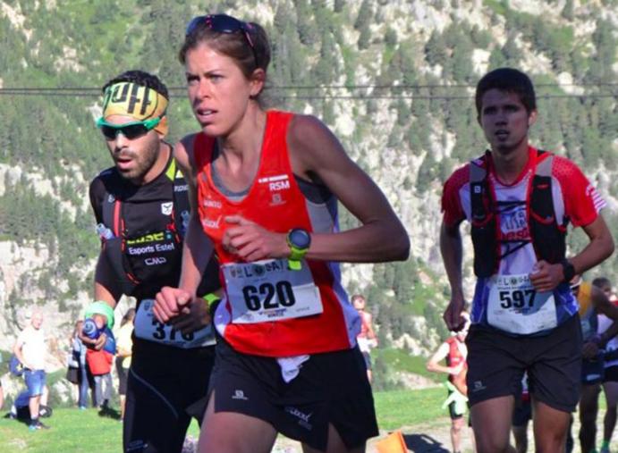 Laura Orgué roza la Copa del Mundo de Carreras por Montaña