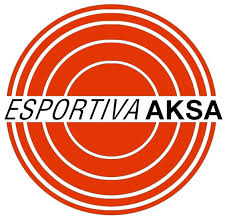 Logo esportiva aksa