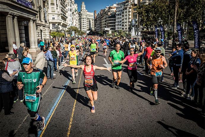 Cambio de precio en las inscripciones al Maratón y Media de Valencia