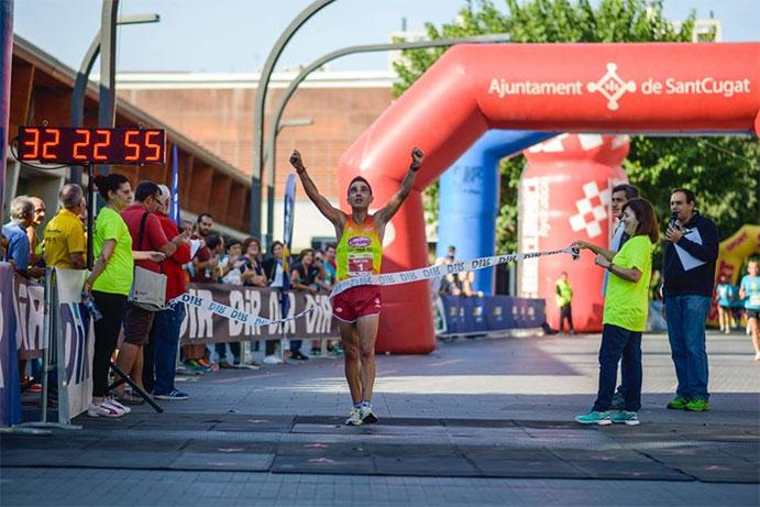 Nacho Cáceres y Enka Viñas vencen en la 8a Carrera DiR-Mossos