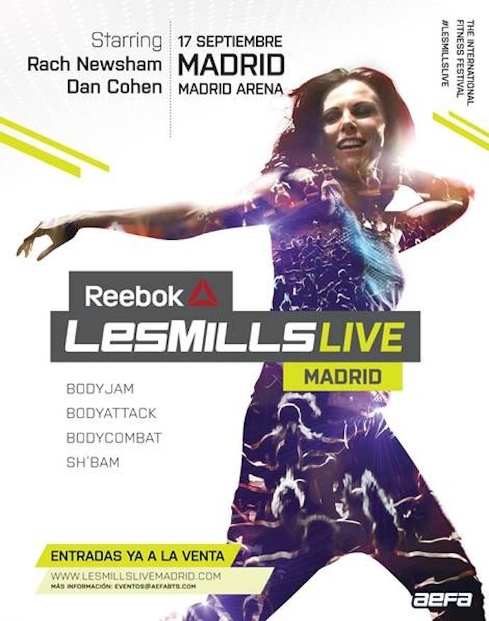 Nueva edición del Reebok Les Mills en Madrid