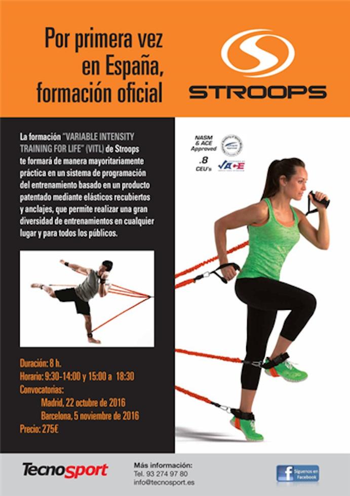 Llega por primera vez a España la formación de Stroops de la mano de Tecno Sport