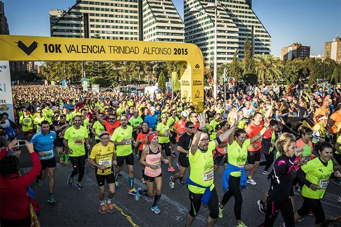 La 10K Valencia Trinidad Alfonso agota dorsales