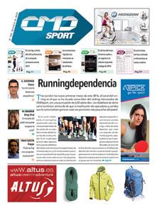 Portada de la edición 382 de la revista impresa CMDsport correspondiente a octubre de 2016. Marcas anunciantes de esta portada: JOHNSON, ATIPICK y ALTUS.