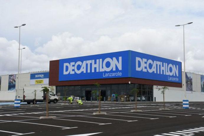 Decathlon ultima en Lanzarote su sexta tienda en Canarias
