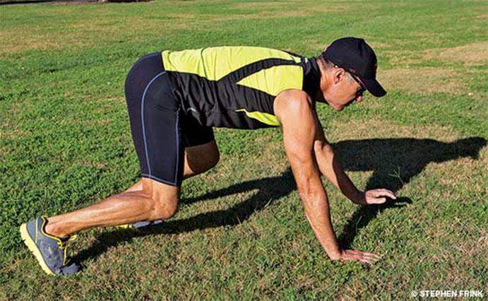Gatear como alternativa al running