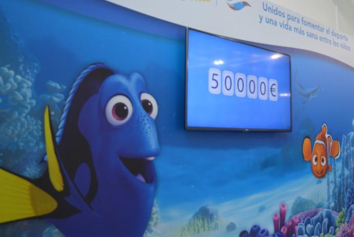 GO fit Vallehermoso recauda 50.000 euros para Save the Children