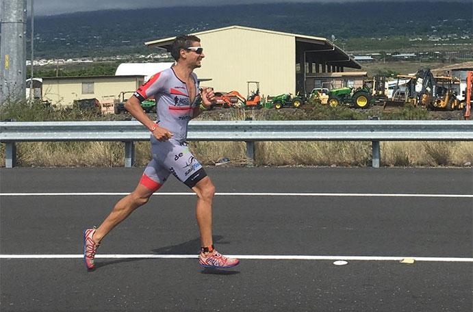 Raña, mejor español en el Ironman de Kona