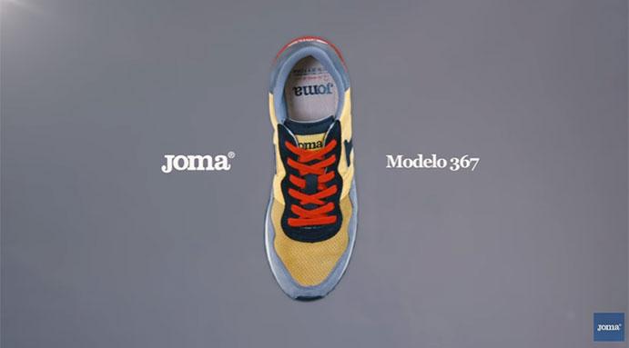 Joma relanza el modelo 367 en su 50 aniversario