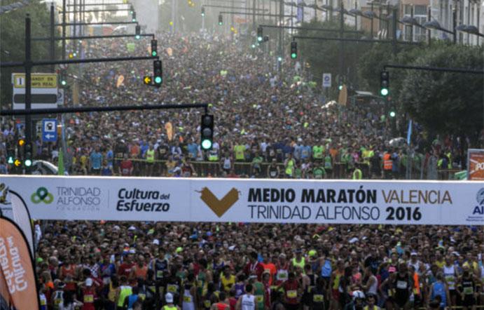Nuevo récord femenino en el Medio Maratón de Valencia
