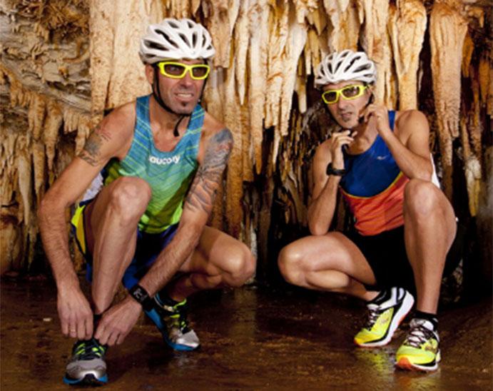 Javi Conde y Jon Salvador correrán un maratón dentro de una cueva