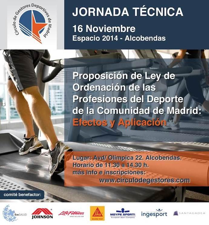 Jornada sobre la Ley de Ordenación de las Profesiones del Deporte en Madrid