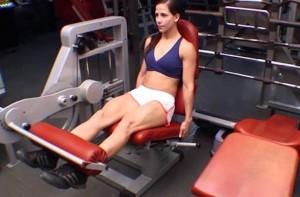 Máquina extensión de piernas