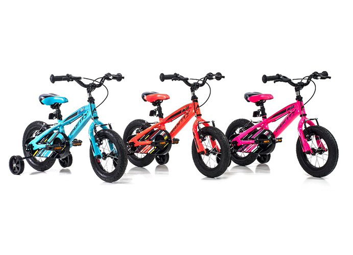 Monty renueva su gama de bicicletas infantiles