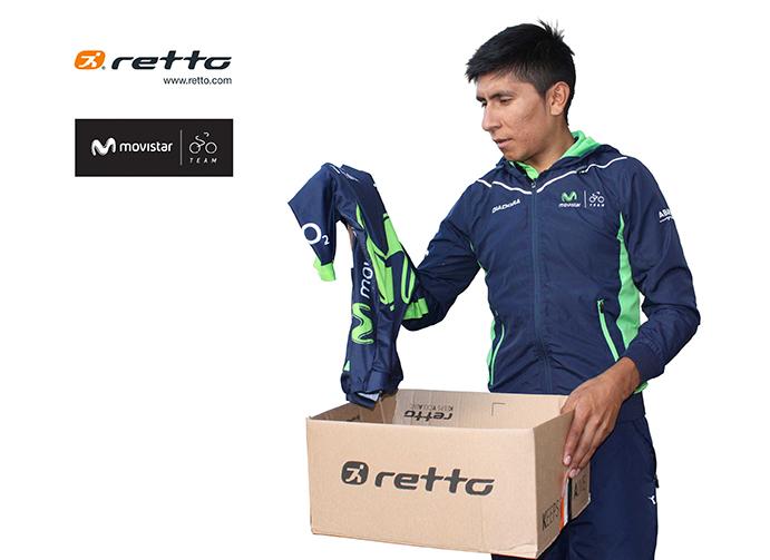 Retto renueva como tienda oficial del Movistar Team