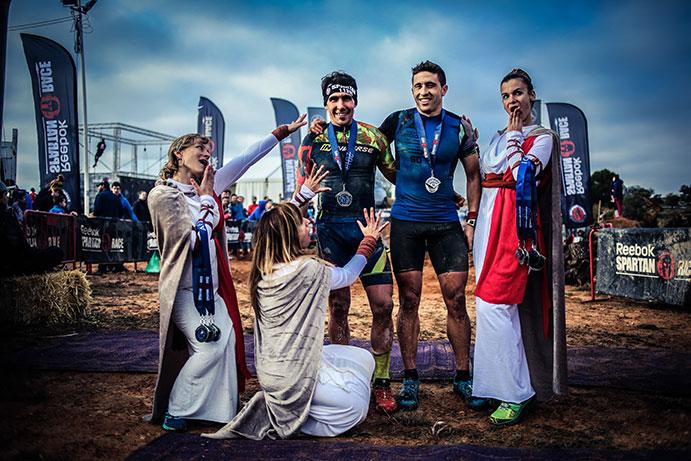 Paterna pone el broche de oro al circuito nacional Spartan 2016