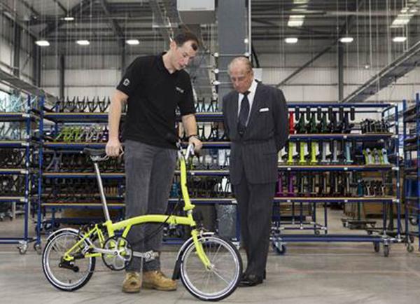 Brompton inaugura una nueva fábrica en Londres