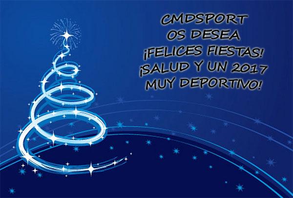 ¡CMDSport os desea unas Felices Fiestas!