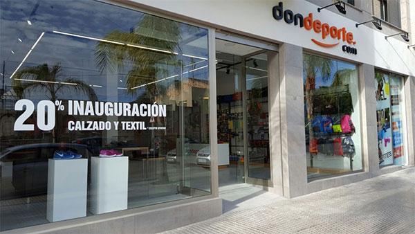La tienda online Don Deporte abre su primera tienda física