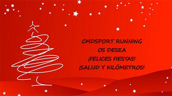 ¡Cmdsport Running os desea unas Felices Fiestas!