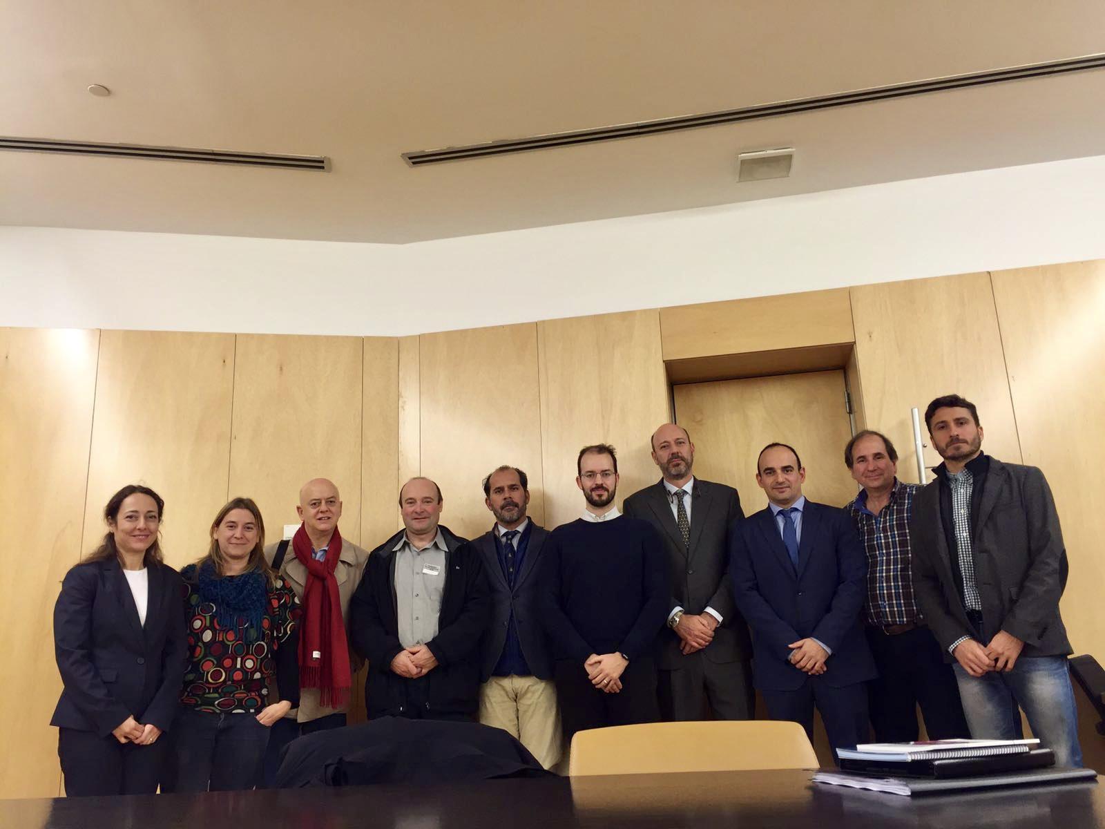 Nueva reunión del grupo interparlamentario de la bicicleta