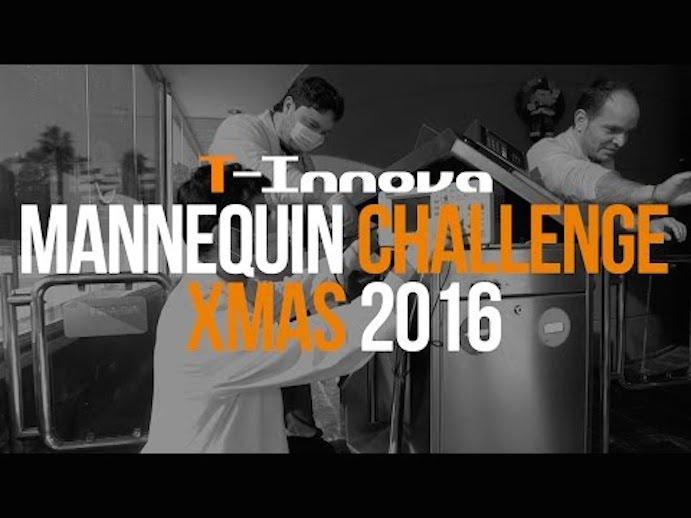 T-Innova se sube al tren de los Mannequin Challenge