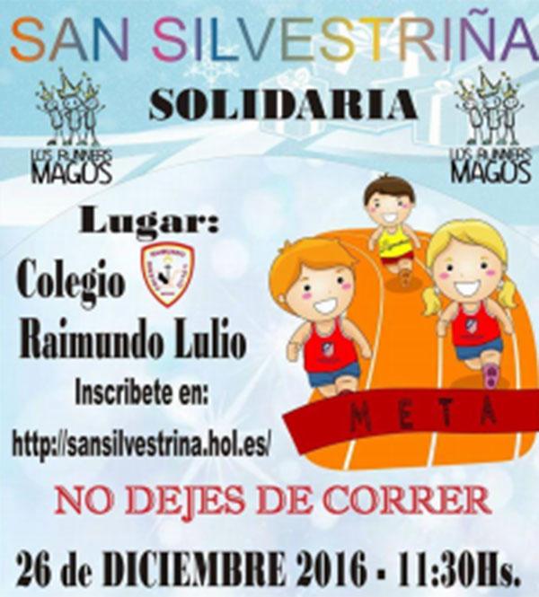 Vallecas prepara su San Silvestre infantil solidaria
